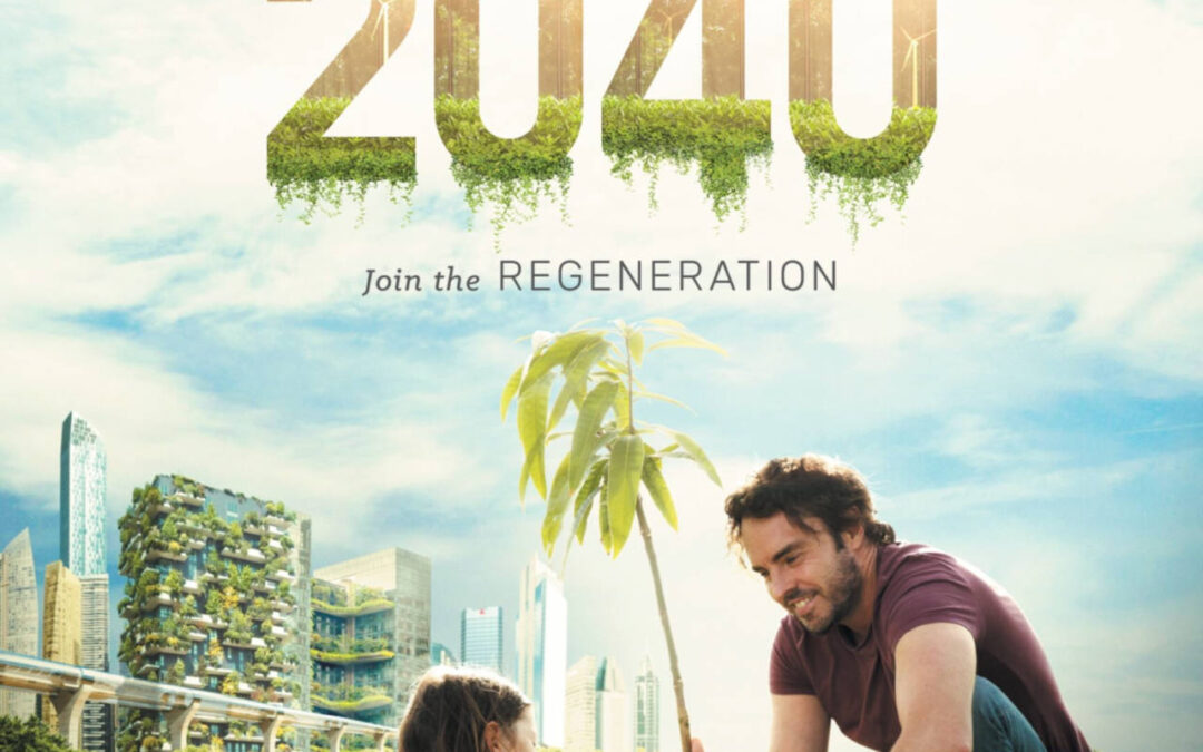 Tues 27 October: Green Drinks Film Night – Screening of the film 2040