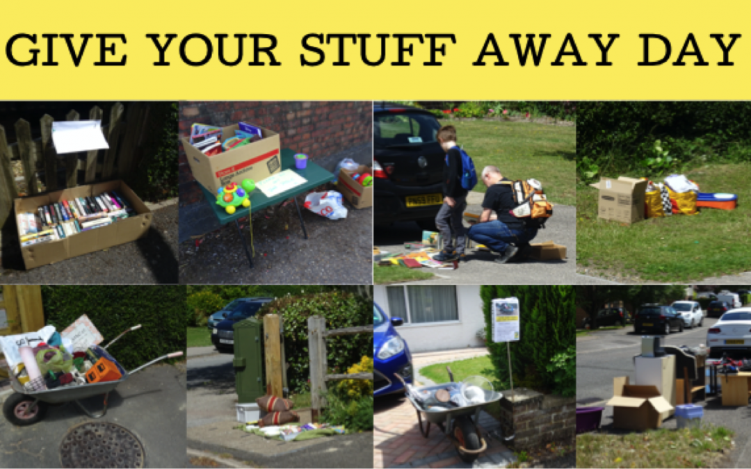 Sun 3rd Oct – Give Your Stuff Away Day