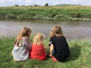 Children by the River Adur, Upper Beeding