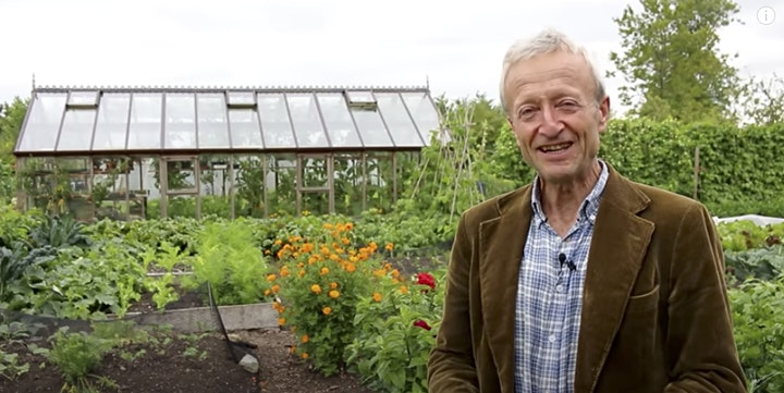 Green Books – Charles Dowding talks & answers questions about his new book – No Dig Gardening