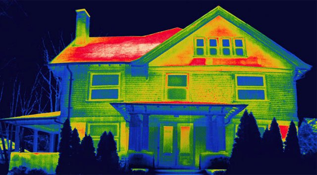 Thermal Image House