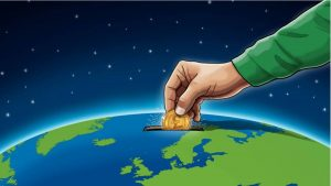 Green Investing Globe