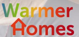 warmer homes logo