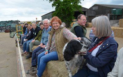 27 June – Huddlestone Farm Tour