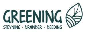 greening steyning logo green